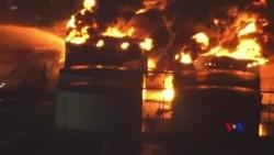 2019-03-19 美國之音視頻新聞: 美國德州油庫大火可能繼續燃燒兩天