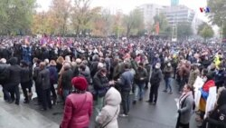 Եվս մեկ ցույց Երևանում՝ ընդդեմ ԼՂ-ի հրադադարի մասին համաձայնագրի