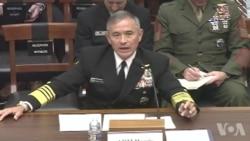 哈里斯上将称航母能轻松抵御朝鲜攻击原声视频