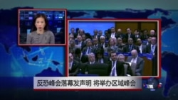 VOA连线:反恐峰会落幕发声明 将举办区域峰会