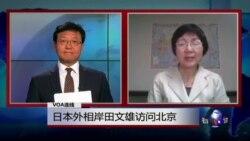 VOA连线: 日本外相岸田文雄访问北京 谢长廷出任台湾驻日代表