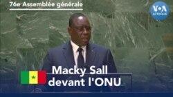Macky Sall devant l'ONU