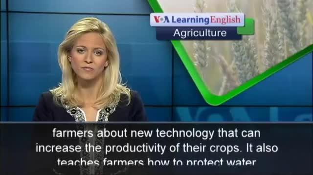 Farmers Learn Skills Online