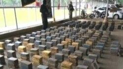 巴拿馬警方破獲該國最大宗可卡因案之一