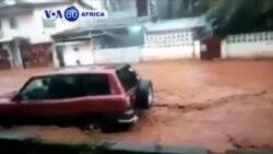Abantu 300 Bahitanywe n'Umuzure n'Inkangu i Freetown muri Sierra Leone
