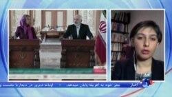 موگرینی در تهران: توافق هسته ای خبر خوشی برای منطقه و جهان است