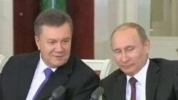 反政府派抗议乌克兰与俄罗斯达成减债协议