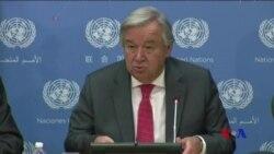 聯合國秘書長指責緬甸對羅興亞人民族清洗 (粵語)