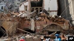 La communauté libanaise d'Afrique secouée par la tragédie de Beyrouth