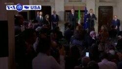 Manchetes Americanas 2 Outubro: Pompeo admite ter estado presente em chamada para Zelensky