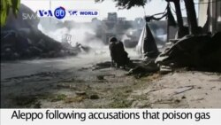 VOA60 World - Syrian government forces attack rebels near Aleppo