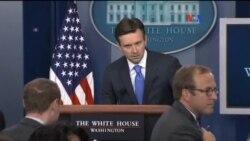 Conferencia de prensa de Casa Blanca evacuada