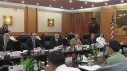 美中高级军事官员北京会谈
