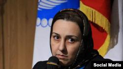 زهرا رحیمی خامنه، مدیرعامل جمعیت امداد دانشجویی امام علی