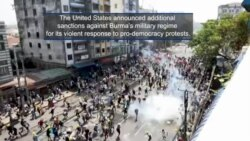 More Sanctions Against Burma's Military