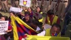 西藏青年會抗議習近平
