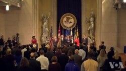 司法部纪念马丁路德金 强调和平诉求重要性