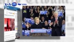 Thay đổi nhân sự là dấu hiệu lo ngại cho bà Clinton (VOA60)