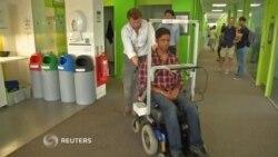 Silla de ruedas autodesplazable