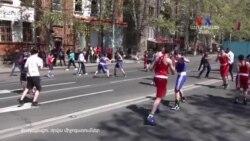 Երևանի տարբեր փողոցներում սպորտային, մշակութային միջոցառումներով նշում են Քաղաքացու օրը