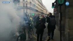 Sarı Yelekliler 6.Haftasında: Hedef Paris Sokaklarıydı