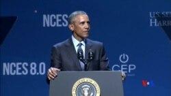 2015-08-25 美國之音視頻新聞:奧巴馬宣佈清潔能源計劃