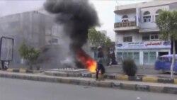 حملات هوایی ائتلاف به رهبری عربستان علیه حوثی ها در صنعا
