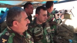 Kurdish Fighters on IS Frontline Ready for Offensive