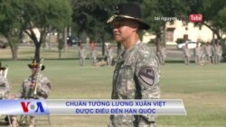 Chuẩn tướng Lương Xuân Việt được điều đến Hàn Quốc