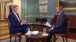 Full Interview with John Kerry on South Sudan Sanctions
