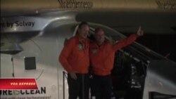 Solar Impulse 2 hoàn tất chuyến bay vòng quanh thế giới