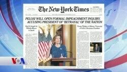 25 Eylül Amerikan Basınından Özetler