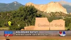 Kolorado shtatiga sayohat. 7-qism. Ma'budlar bog'i - The Garden of the Gods