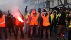 法國爆發大示威 美國中國駐法使館都提醒公民謹慎 (粵語)