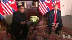 پرزیدنت ترامپ پیش بینی کرد «رابطه فوق العاده»ای را با کیم جونگ اون برقرار کند