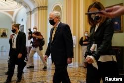 Senato'daki Cumhuriyetçiler'in Lideri Mitch McConnell
