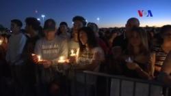 Una comunidad de duelo honra a víctimas de matanza en Florida