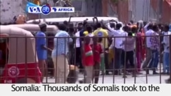 VOA60 Africa - Somalis Optimistic About New President