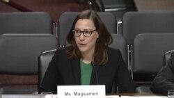 玛格萨门谈美军亚太部队军力不足原声视频(国会参议院视频)