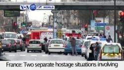 VOA60 Duniya: Charlie Hebdo, Faransa, Janairu 9, 2015