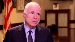 VOA's Serbian Service Interviews Sen. John McCain