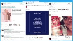 #MeToo Campaign Prompts Thousands to Share Sexual Harassment Stories