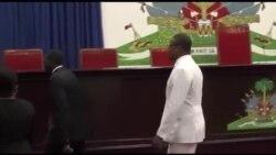 Ayiti: Premye Minis Nome Jean Henry Céant Envite pou l Vin Prezante Politk Jeneral li nan Sena