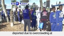 VOA60 Africa - Libya deports dozens of Malian migrants