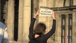 2017-04-03 美國之音視頻新聞: 匈牙利人抗議政府企圖規管中歐大學 (粵語)