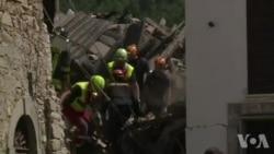 Un séisme de magnitude 6.2 ravage le centre de l'Italie