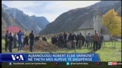 Albanologu Robert Elsie varroset në Theth