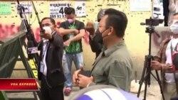 Campuchia: Thiếu thực phẩm vì phong toả COVID, dân xuống đường biểu tình