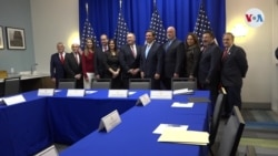 Pompeo se reúne con el exilio venezolano en Miami