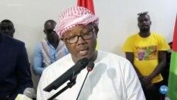Umaro Sissoco Embaló celebra vitória na Guiné-Bissau